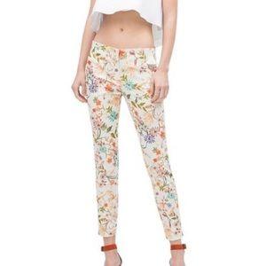 Zara - Floral pants